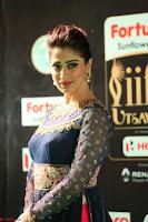 Raai Laxmi in Beautiful Backless Designer Anarkali Gown at IIFA Utsavam Awards 2017  Day 2  Exclusive 37.JPG