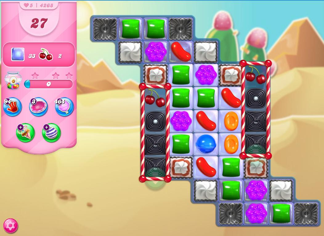 Candy Crush Saga level 4268
