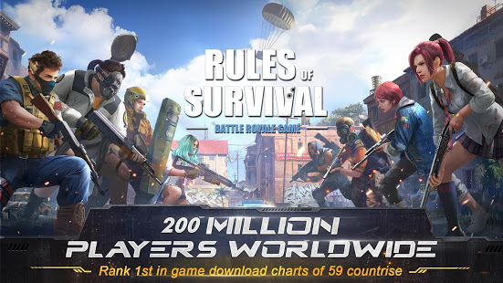 Rules of Survival Mod Apk Android
