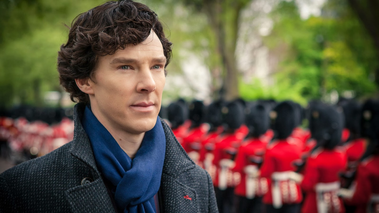 Benedict Cumberbatch as Sherlock Holmes in BBC Sherlock Season 3 Episode 2 The Sign of Three