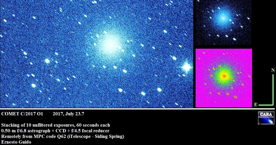 New Comet: C/2017 O1