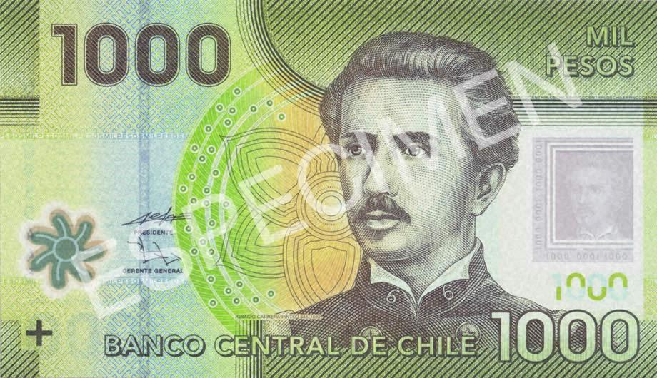 23 Junio 2017 Chile Conozca El Nuevo Billete De 1000 Pesos 2 Dolares No Seria Mejor Moneda Por Ese Valor