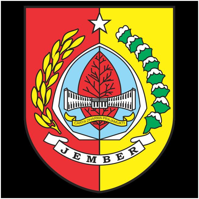 Hasil gambar untuk kab jember logo