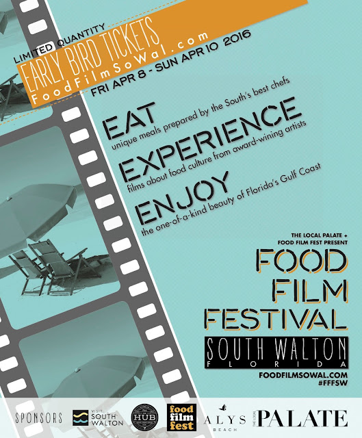 April 8-10, 2016 make sure to check out the Film Food Festival in South Walton