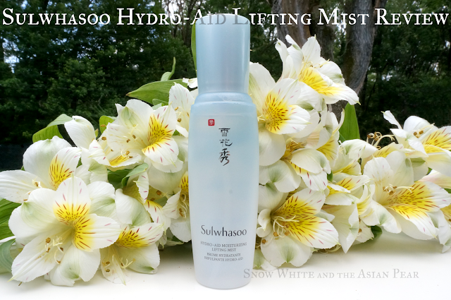 Sulwhasoo Hydro-aid Mist Review