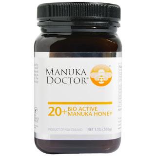 عسل المانوكا بقوم 20+ للنشاط والحيوية  Manuka Doctor, 20+ Bio Active Manuka Honey, 1.1 lb (500 g)