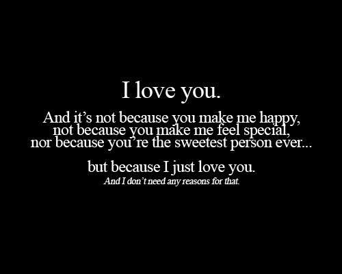 I love my boyfriend quotes for him