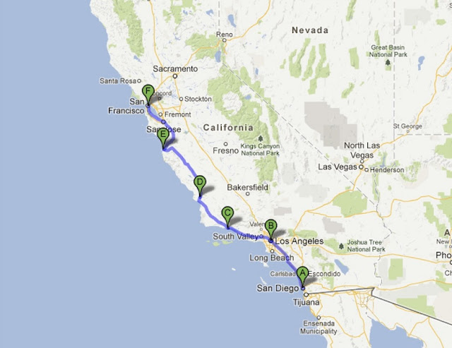 Roteiro: San Francisco, Napa Valley, Yosemite e Los Angeles