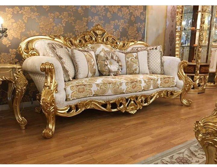 Mebel Dan Furniture Jepara Elegant Soffa Gold