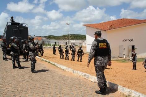'Força Nacional' dos presídios começa a atuar nesta quarta no Rio Grande do Norte