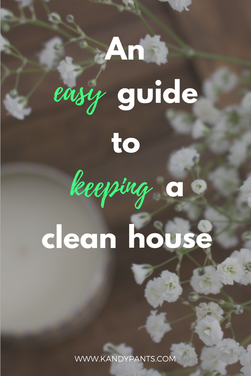 Hate cleaning? Me too! Here's an easy guide to keeping your house clean from a fellow lazy girl!