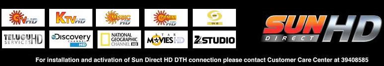 Star Movies HD, Zee Studio HD added on Sun Direct HD