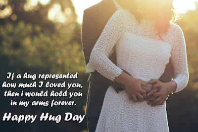 Hug day SMS quotes messages in english