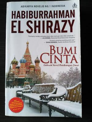 Cover Buku Bumi CInta