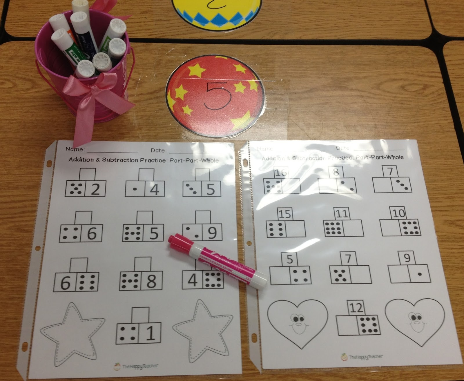 Thehappyteacher Addition Amp Subtraction Printables Part