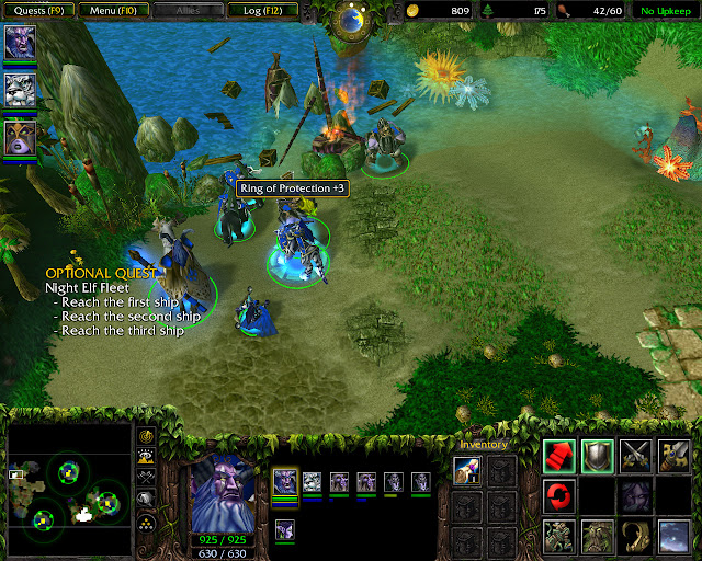 Balancing the Scales Mission 5   Ring of Protection   Warcraft 3: The Frozen Throne