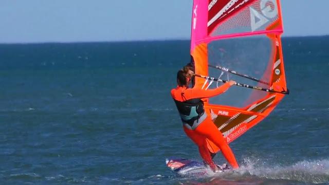 Océane Gilles windsurf gaastra tabou planche à voile roxy mystic mer port la nouvelle spot la vieille nouvelle