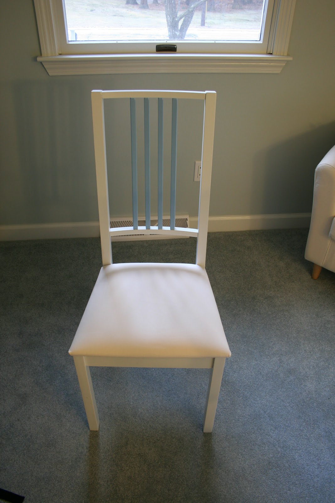 Old Ikea Chair Covers Costco Lift Function And Style Borje Mod Craft Room Update
