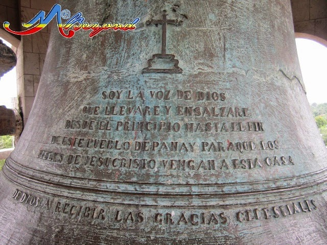 big bell of pan-ay church, pan-ay church big bell, pan-ay church, old churches philippines, sta monica church roxas, church of pan-ay, roxas city old church, philippines old churches