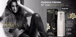 perfume femenino afrodisiáco atractivo de pacco rabanne en millanel, fragancia atractiva, Milla xs