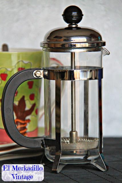 Cafetera-Tetera de Embolo a presión