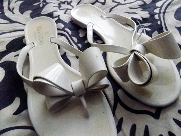 Valentino bow jelly sandals, Valentino sandals