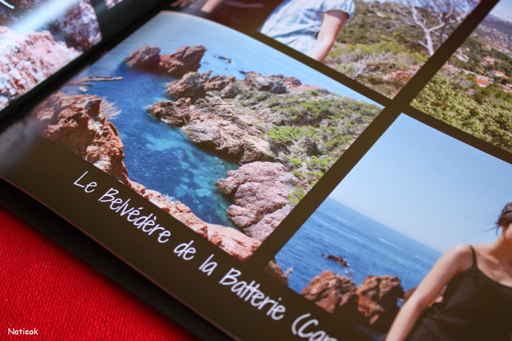 livre photo Luxe de Photobox