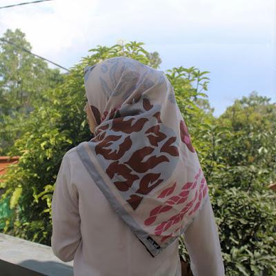 Hijab Segi Empat Cute Art