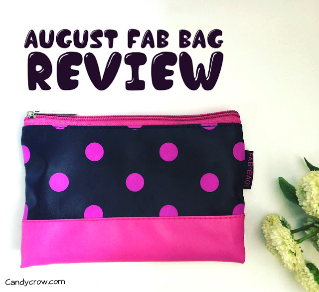 August 2016 Fab Bag Review
