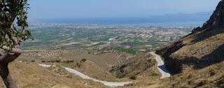 Vistas desde Acrocorinto.