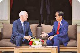 Ini Materi Pembahasan Freeport antara Joko Widodo dan Mike Pence