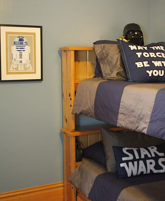 Star Wars Bedroom: At Second Street: Star Wars Room Completed