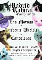 Concierto IV Aniversario de Madrid Radical