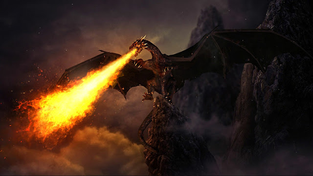 Fiery Dragon Wallpaper Engine