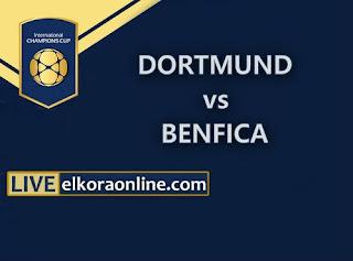 Live Streaming Dortmund vs Benfica ICC 2018