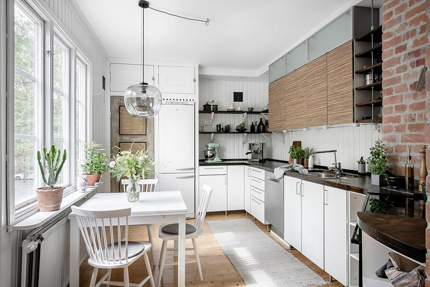 lampara cristal para decorar cocina