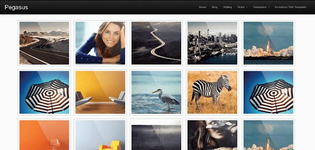 Шаблон для Blogger