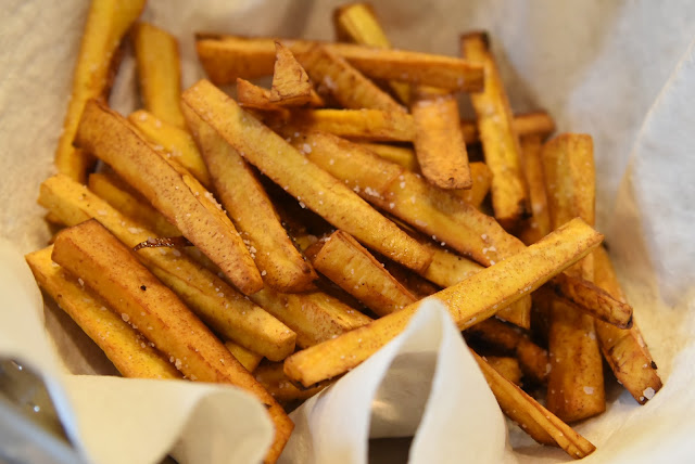 Paleo Plantain French Fries