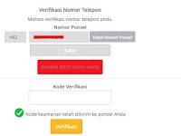 Cara Mudah Membuat  Akun Virtual Blanja.com