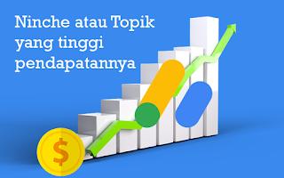 Topik Blog atau Niche yang paling banyak menghasilkan Uang