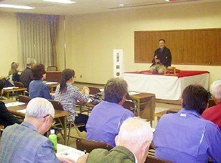 商工会議所 三遊亭楽春講演会 「落語に学ぶ顧客満足向上」
