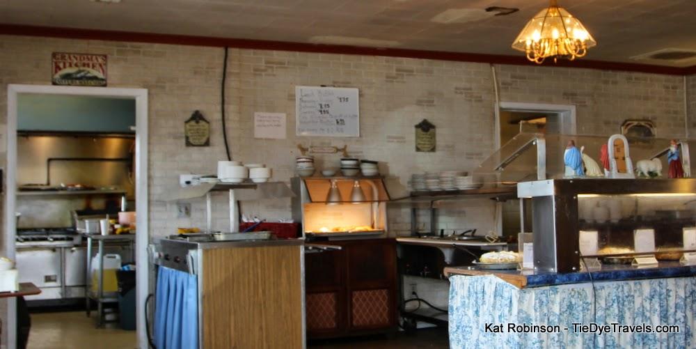 Grandmas House Cafe Buffet Menu