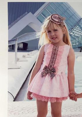 vestido para niña de dolce petit moda infantil online