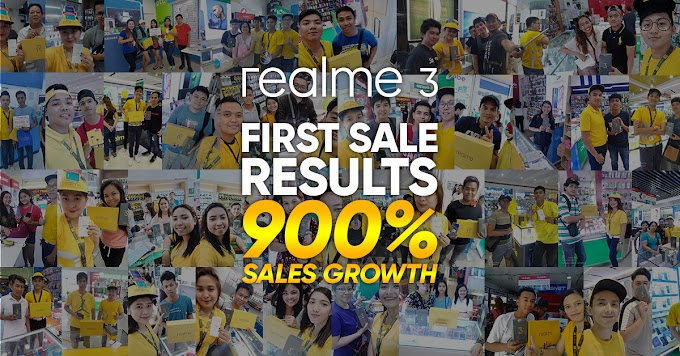 Realme Reaches 900% Sales Growth with The Realme 3