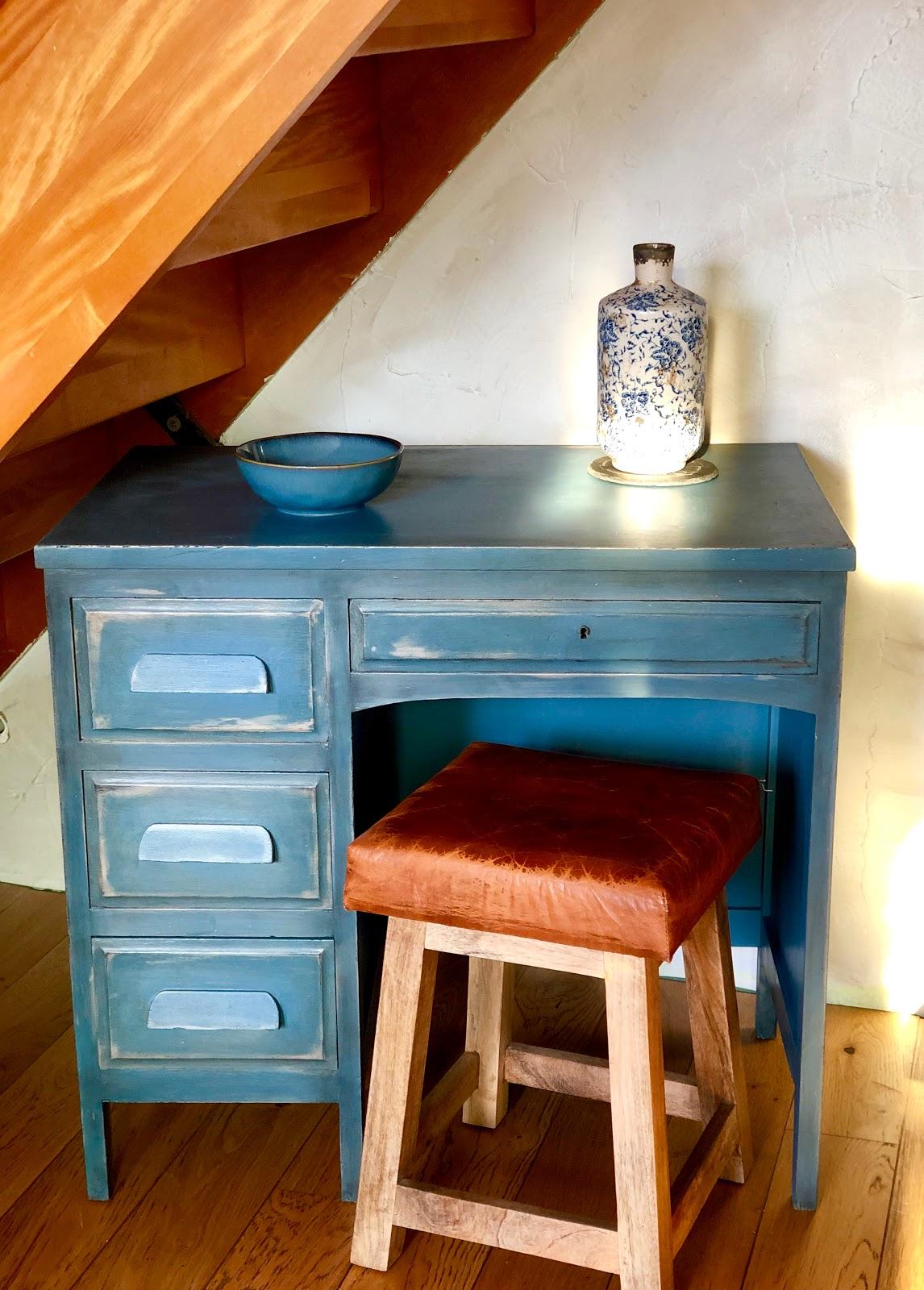 Couleur Peinture Pour Bureau Professionnel petit bureau bleu