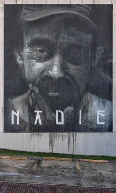 Street Art By Axel Void For Los Muros Hablan 2013 In San Juan, Puerto Rico. 1
