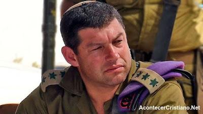 Oficial israelí asegura que Dios los protegió en una batalla