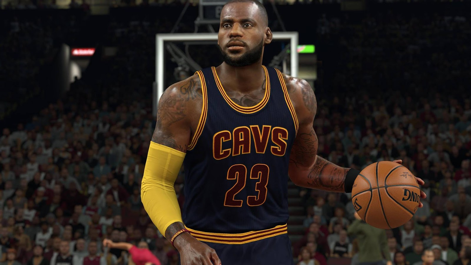 DNA Of Basketball | DNAOBB: NBA 2K17 Lebron James Cyberface (PLAYOFFS) by Basagre28