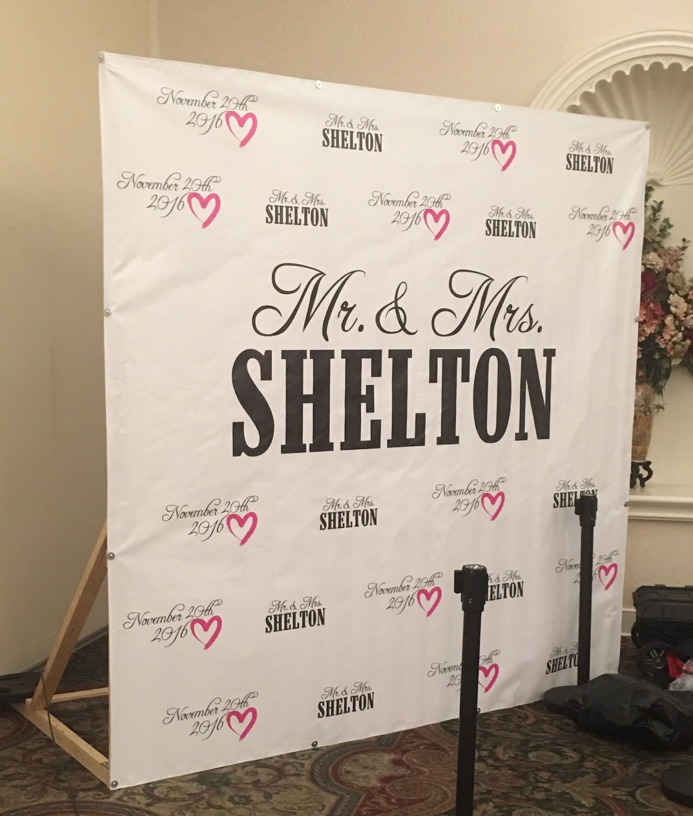 Banners Com Wedding Step And Repeat Banner