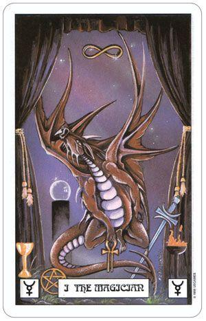 Tarot en D&D - El Mago